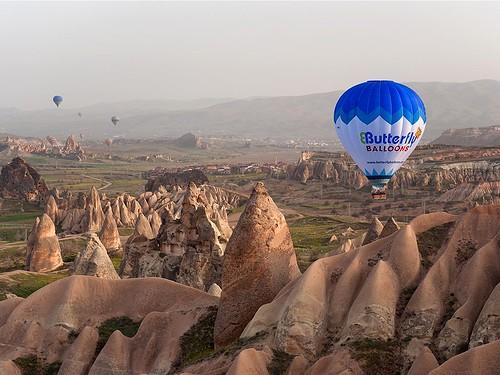 Butterfly Balloon Cappadocia