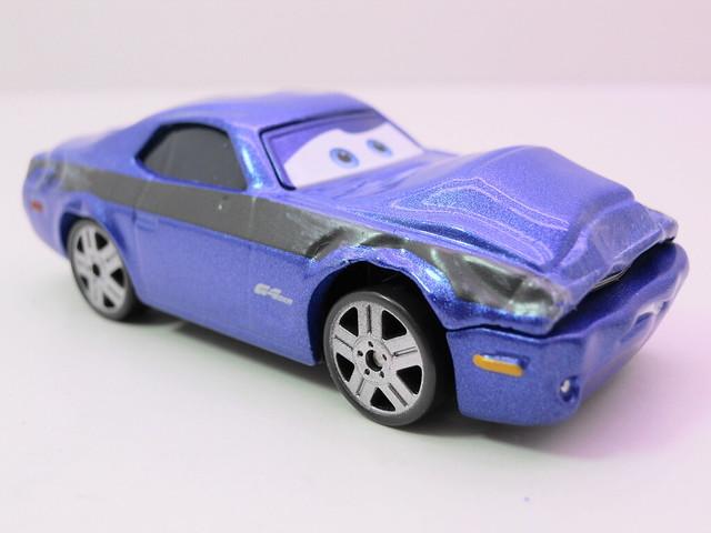 disney cars 2 movie doubles damaged rod torque redline grem 1 (2)