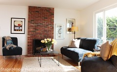 Daly City Home Staging: Living Room