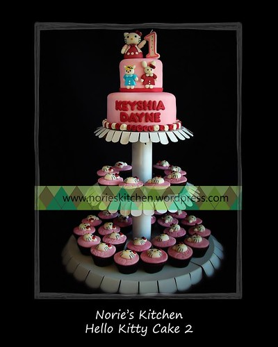 Norie's Kitchen - Hello Kitty Cake tower