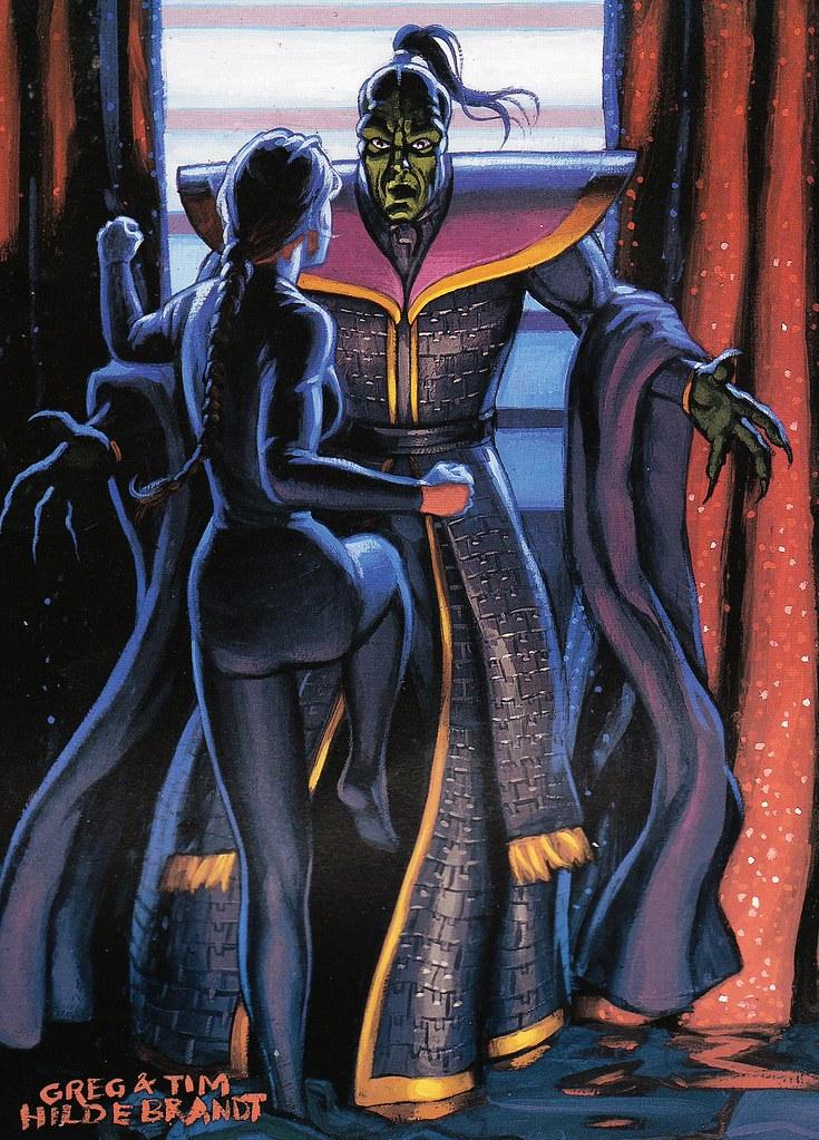 Leia knees Xizor