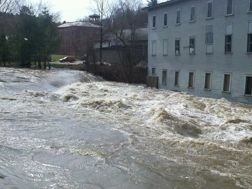 woolen mill flood
