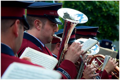 Salvation Army Band by Ian Keegan
