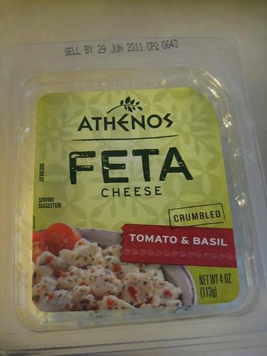 athenos feta cheese tomato and basil