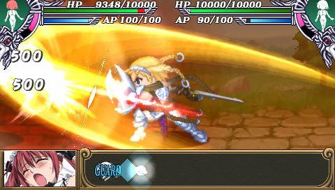 Queen's Blade : Spiral Chaos - attack 1