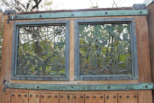 Brooklyn Botanical Gardens - Native Garden Door