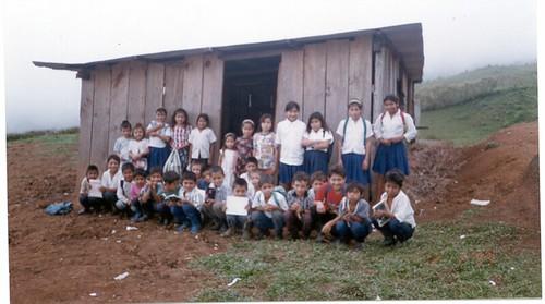 Escuela rural PROHECO