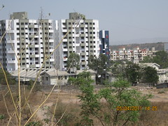 Real estate development on the Kothrud side of...