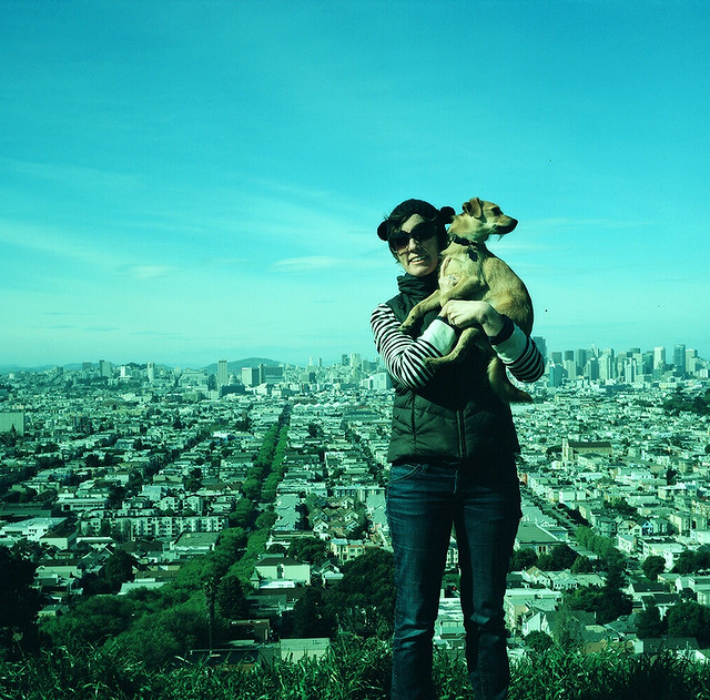 Stella & Molly on Bernal