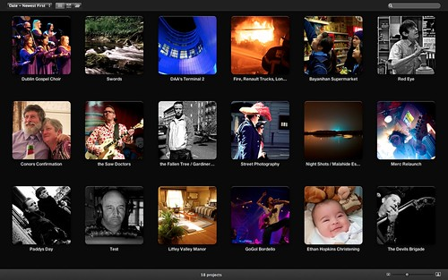Aperture Workflow Screenshot / May 2011 by Ian Keegan