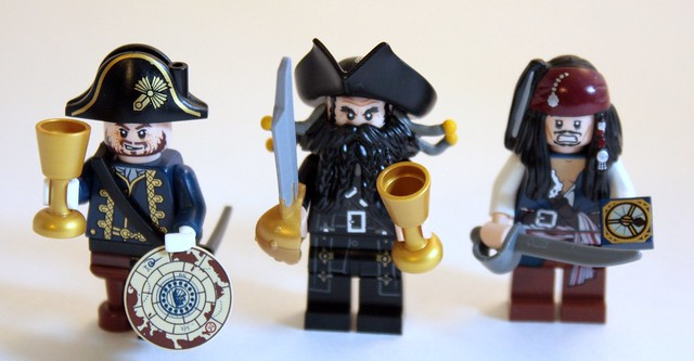 Three minifigures will there be, no more, no less. The number will be three. Well, except that there are four. If you count the skeleton.