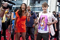 Justin Beiber with eTalk - 2011 MMVA MuchMusic...