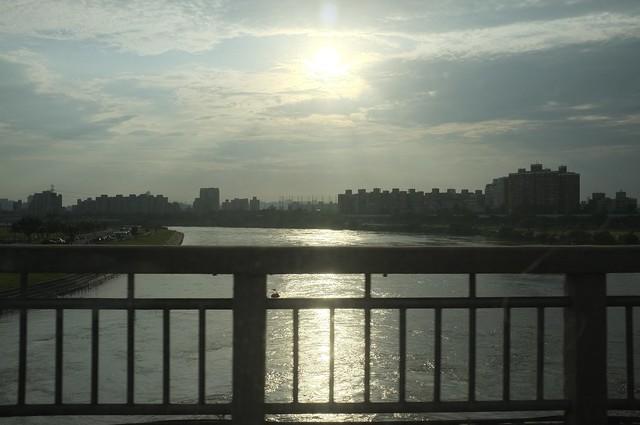 米雷刷洗後的傍晚﹣中正橋