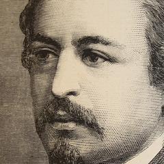 Thomas Nast Wood Engraving (detail)