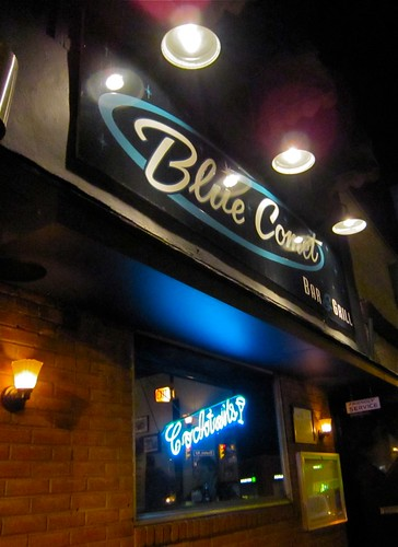 The Blue Comet Exterior Sign