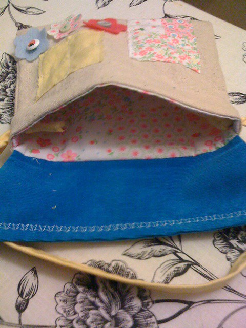 Little House Pouch inside