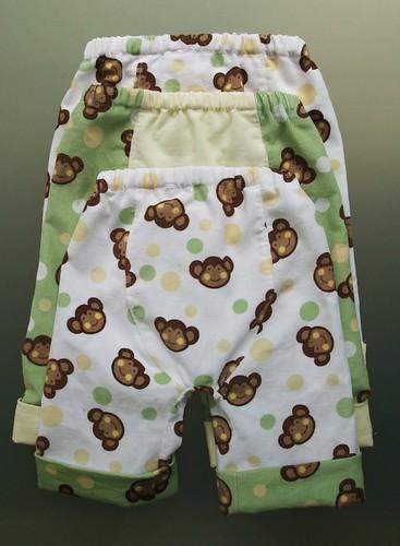 Baby Monkeys B3Ps - Back