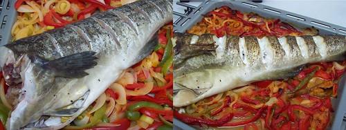Bacalao fresco al horno