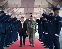 Japan Defense Minister thanks U.S. service members