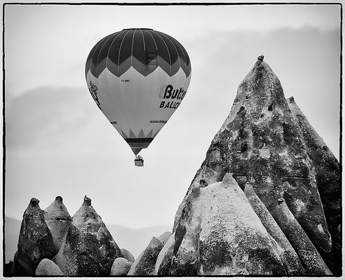 Balloon, Tufa Towers & Bird