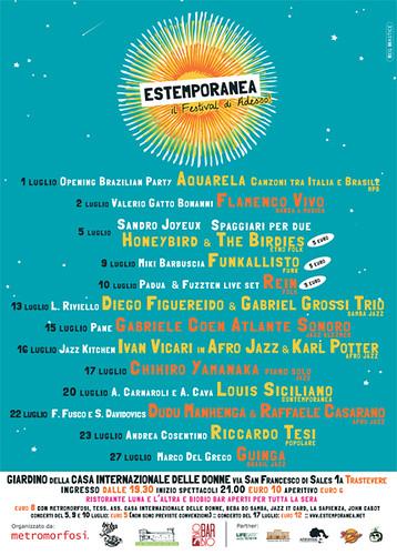 ESTEMPORANEA 1a Edizione [Programma] by cristiana.piraino