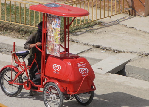 The Ice Cream Man Kabul Style