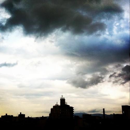 いま空。明日は晴れるかな? #Osaka #sky