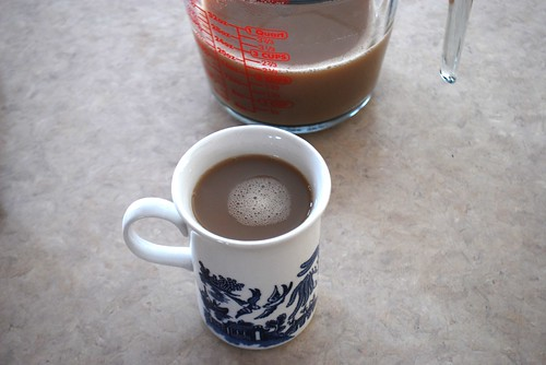 a nice soothing cup of chai