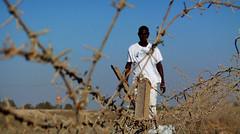 """Adam Bashar, a genocide survivor from Darfur in """"The Last Survivor"""""""