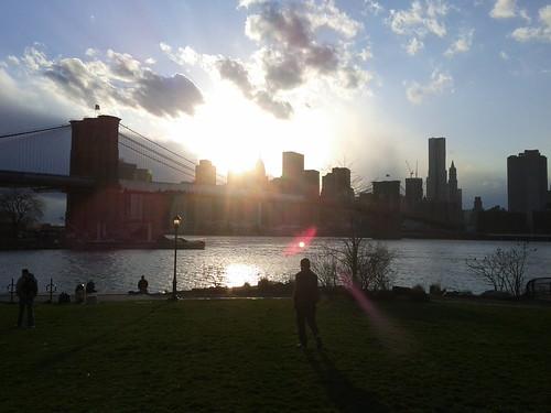 Dumbo, park, sun.