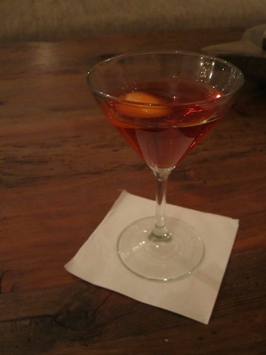 Negroni by the Fire