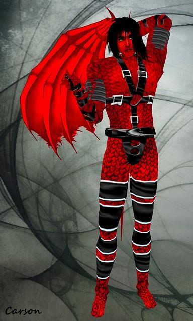AdelleArts  - Demon in Harness