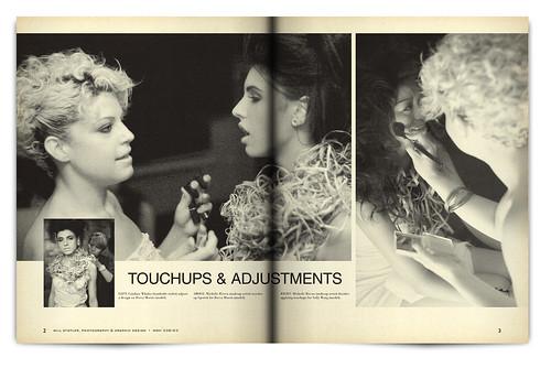 Design Project: Aqua Night Magazine Spread - pgs. 2 & 3