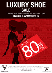 Valiram Group Luxury Shoe Sale 30 Jun - 2 Jul 2011