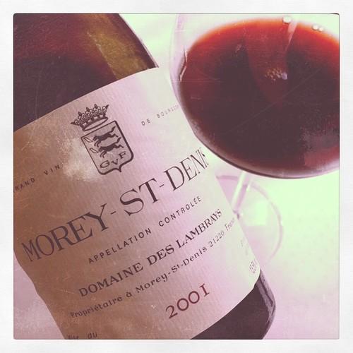 Morey St. Denis by Domaine des Lambrays 2001