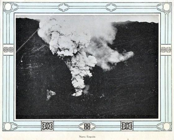 erupcion volcan san salvador 1917