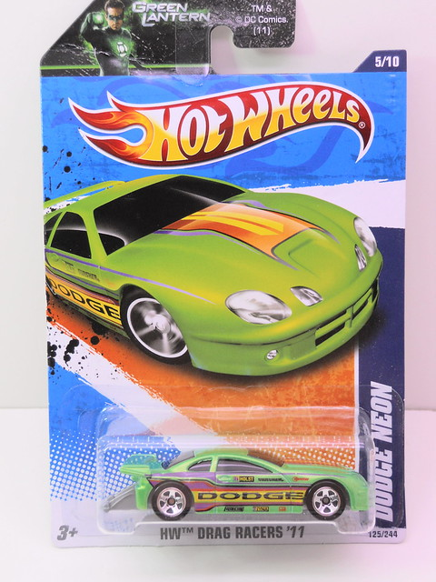 hot wheels dodge neon drag car (1)