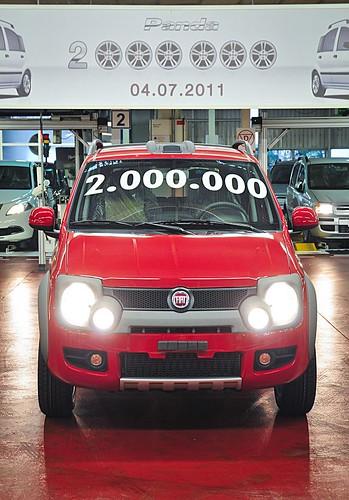 Fiat Panda: 2 millions