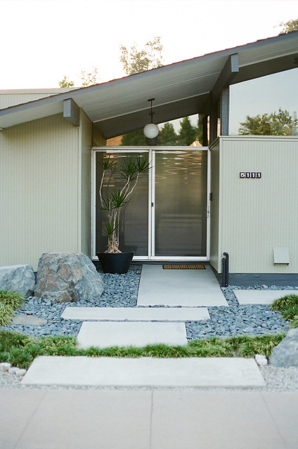 Eichler Homes Orange California The Analog Eye