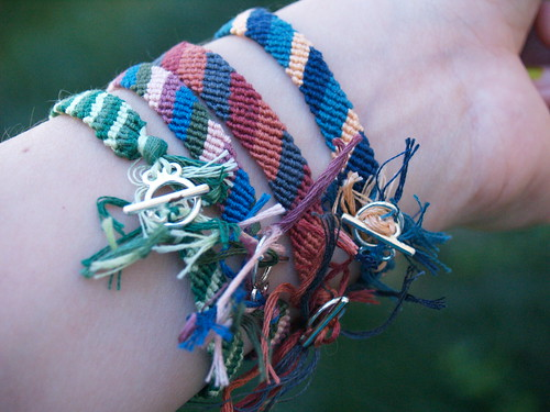 Grown Up Friendship Bracelets - Back