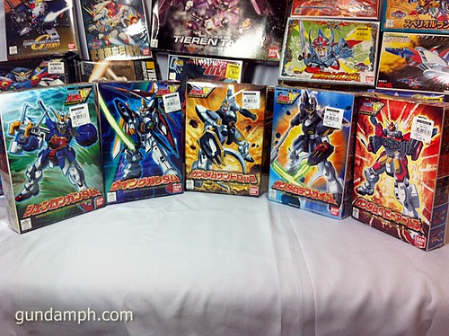 Gundam Wing 1/144 Set