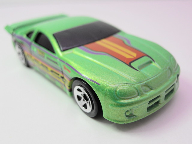 hot wheels dodge neon drag car (3)