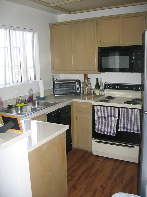 ...and the new kitchen
