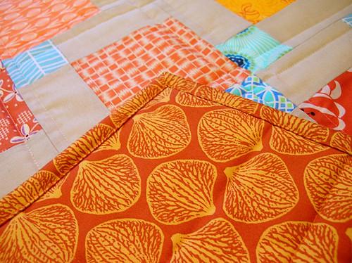 Back of kitchen mat
