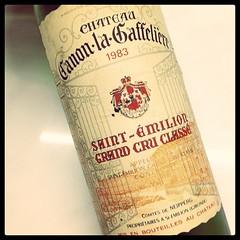 Ch. Canon-la-Gaffeliere 1983