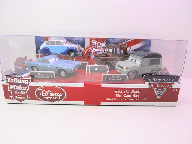 disney store cars 2 save the queen boxset (1)