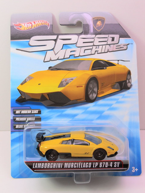 hot wheels speed machines lamborghini murcielago LP 670-4 SV (1)