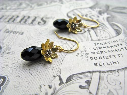 Everyday Poetry short earrings