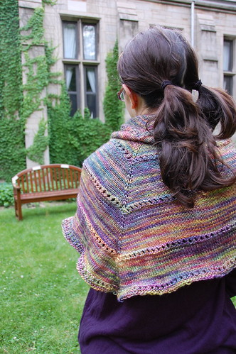 summer shawl by blooming heather