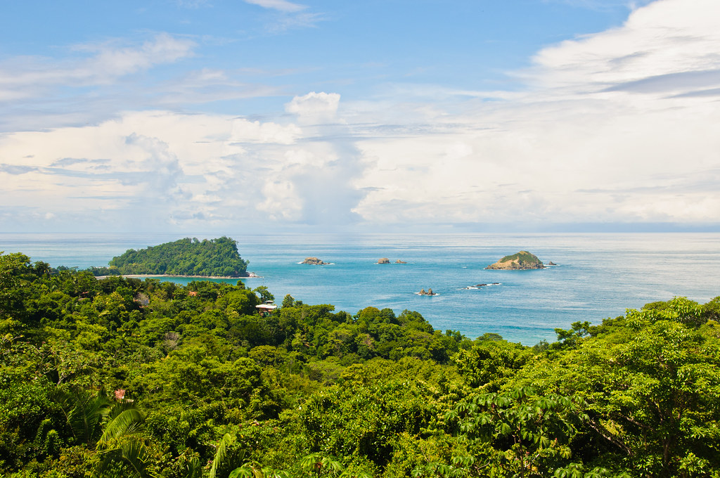 View from our apartment, Manuel Antonio